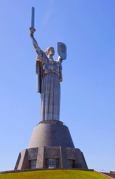 "Picture of ""Motherland"" monument"