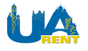 Logo of Kiev apartment rental agency UARent